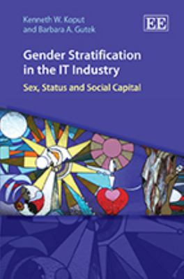 Gender Stratification in the It Industry: Sex, Status and Social Capital 9781849801140
