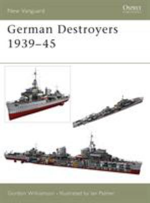 German Destroyers 1939-45 9781841765044