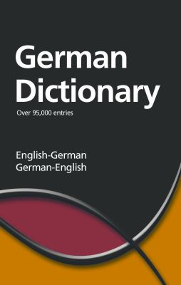 German Dictionary: English-German/German-English 9781840220988