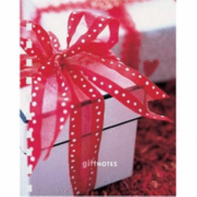 Gift Notes Themed Mini Notebook 9781841727509