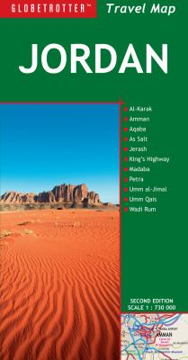Globetrotter Jordan Travel Map 9781847735379