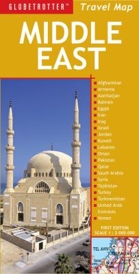 Globetrotter Middle East Travel Map 9781847734747