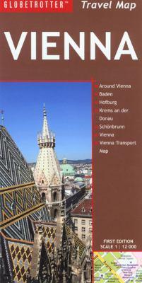 Globetrotter Vienna Travel Map 9781845379698