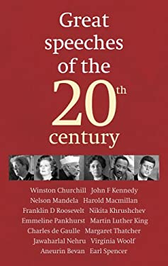 Great Speeches of the 20th Century 9781848090385