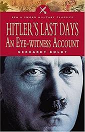 Hitler's Last Days: An Eye-Witness Account 7490478