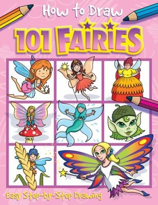 Ht Draw 101 Fairies 9781846668524