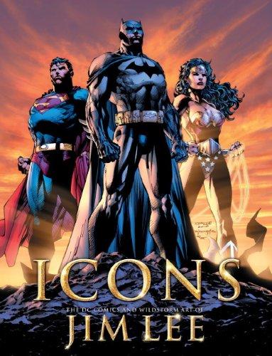Icons: The DC Comics & Wildstorm Art of Jim Lee 9781845765194
