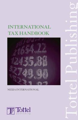 International Tax Handbook 9781847660565