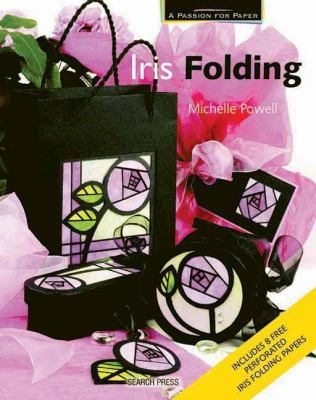 Iris Folding [With 8 Perforated Iris Folding Papers] 9781844483167