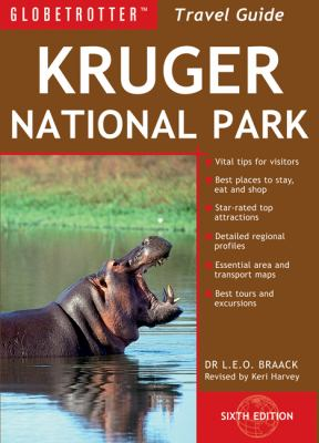 Globetrotter Kruger National Park Travel Guide [With Travel Map] 9781847738127