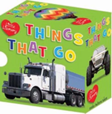 Little Library Things That Go: Emergency/Farm/Flying/Trucks/Diggers/Cars 9781848792128