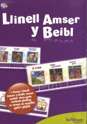 Llinell Amser y Beibl 9781844273638