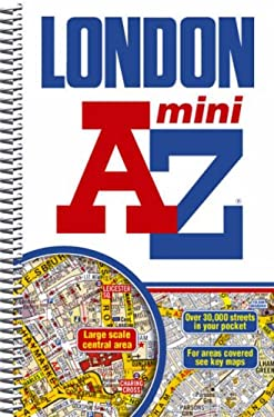 London Mini Street Atlas 9781843486053