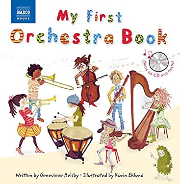 MY FIRST ORCHESTRA BOOK BOOK & CD 9781843797708