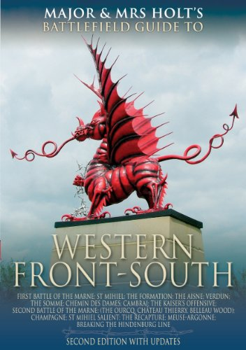 Major and Mrs. Holt's Battlefield Guide to Western Front-South 9781844152391