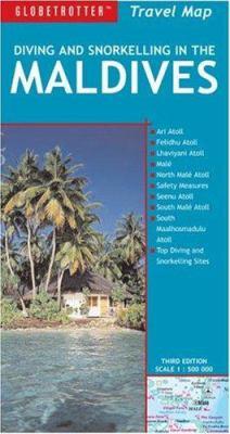 Maldives Travel Map 9781845377755