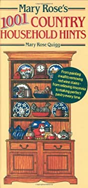 Mary Rose's 1,001 Country Household Hints 9781844060078