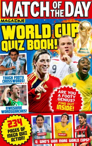 Match of the Day World Cup Quiz Book! 9781846079016