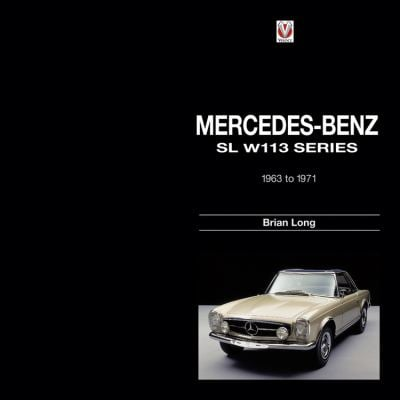 Mercedes benz sl w113 series by brian long reviews for Mercedes benz books
