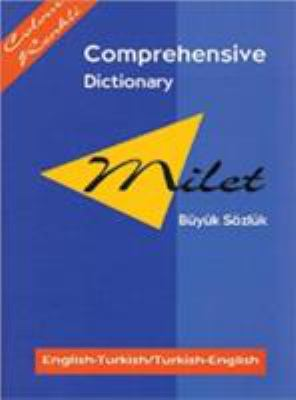 Milet Comprehensive Dictionary (English-Turkish/Turkish-English) 9781840590838