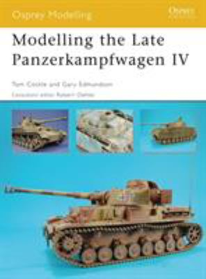 Modelling the Late Panzerkampfwagen IV 9781846031120