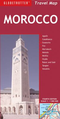Globetrotter Morocco Travel Map 9781847736796