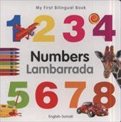 My First Bilingual Book - Numbers (English-Somali)