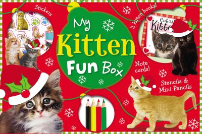 My Kitten Fun Box [With Doodle Activity Book, Cutest Kittens Mini Notebook and 4 Coloring Pencils and 4 Photo Postcar 9781848795433