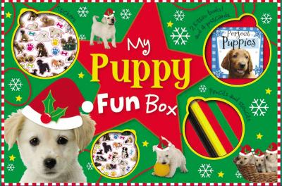 My Puppy Fun Box [With Doodle Activity Book, Perfect Puppies Mini Noteboo and 4 Coloring Pencils and 4 Photo Postcar 9781848795426