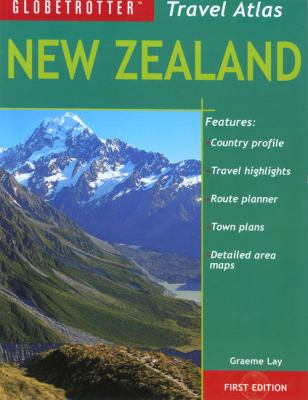 New Zealand Travel Atlas 9781845374457