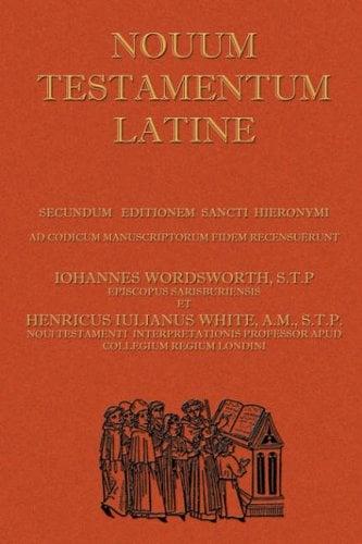 Novum Testamentum Latine (Latin Vulgate New Testament, the Latin New Testament)