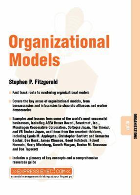 Organizational Models 9781841122410