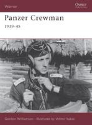 Panzer Crewman 1939-45 9781841763286