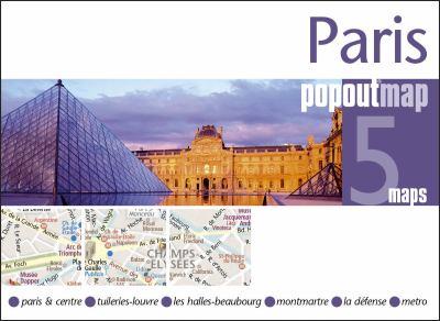 Paris Popoutmap 9781845877774