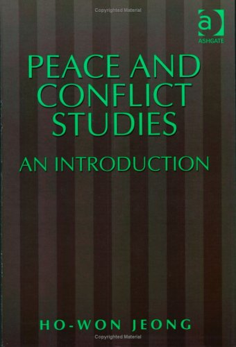Peace and Conflict Studies: An Introduction 9781840140989