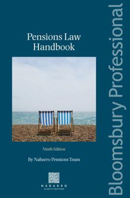 Pensions Law Handbook 9781847663825
