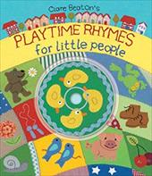 Playtime Rhymes for Little People [With CD] 7516237