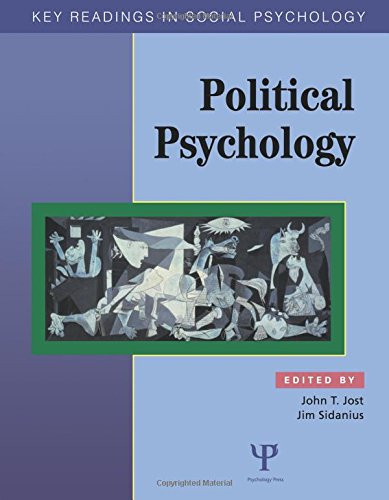 Political Psychology: Key Readings 9781841690704