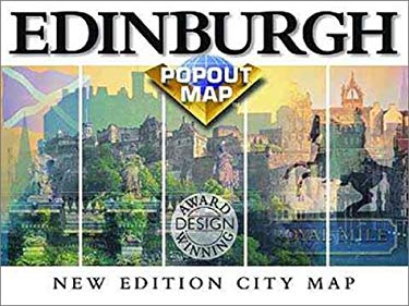 Popout Edinburgh/Glasgow 9781841391663