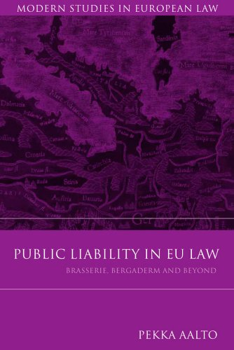 Public Liability in Eu Law: Brasserie, Bergaderm and Beyond 9781849461337