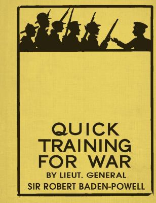 Quick Training for War 9781844861439
