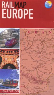 Railmap Europe 9781841576770