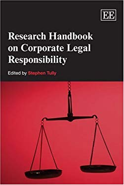 Research Handbook on Corporate Legal Responsiblity 9781843768203