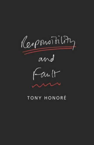 Responsibility and Fault 9781841133997