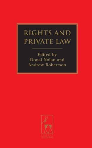 Rights and Private Law 9781849461429