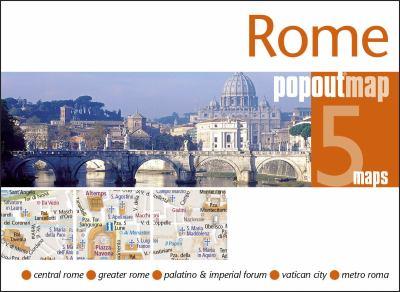 Rome Popoutmap 9781845877781