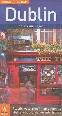 Rough Guide Map: Dublin 9781848365483