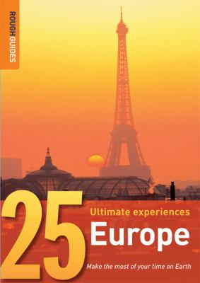 Rough Guides 25 Europe 9781843538196