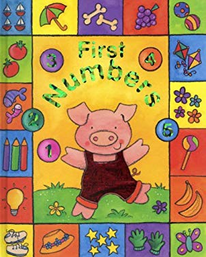 Sparkly Learning: First Numbers: Learn about Numbers in Lively Pictures, in a Chunky Boardbook Format with Sparkly Foil Detail Throughout 9781843222095