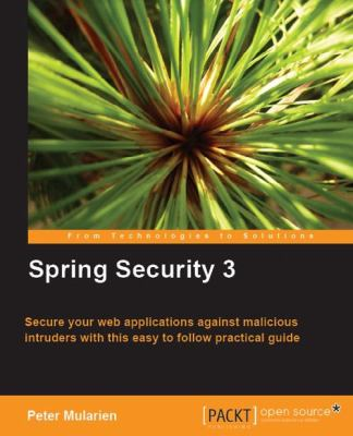 Spring Security 3 9781847199744